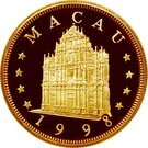 1000 Patacas (Year of the Tiger) – obverse