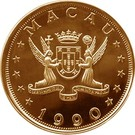 1000 Patacas (Year of the Horse) – obverse