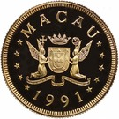 1000 Patacas (Year of the Goat) – obverse