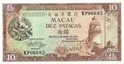 10 Patacas (BNU; Grand Prix Macau) – obverse