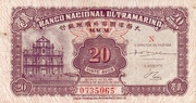 20 Avos (Banco Nacional Ultramarino) – obverse