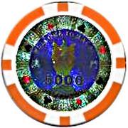 Casino Token - Macau (5000) – obverse