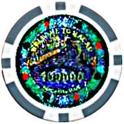 Casino Token - Macau (100 000) – obverse