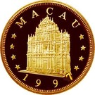 1000 Patacas (Year of the Ox) – obverse