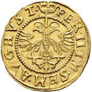 Goldgulden - Ferdinand II (Counterfeit of Chur issue) – reverse