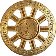 10 Denara (Wheel of Fortune) – reverse
