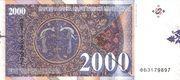 2,000 Denari – reverse