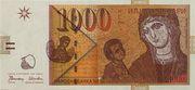 1000 denari – obverse