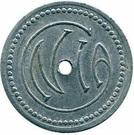1 Franc Cie NOSYBEENNE D'INDUSTRIES AGRICOLES – reverse