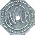 10 Centimes Cie NOSYBEENNE D'INDUSTRIES AGRICOLES – reverse