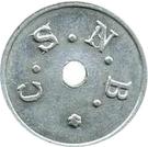 5 Centimes Sucrière de Nossi-Bé – reverse