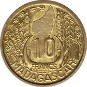 10 Francs (Essai Piedfort) – reverse