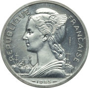 5 Francs (Essai Piedfort) – obverse