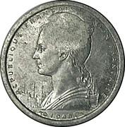 1 Franc - SOFIM (Juan de Nova Island) – obverse
