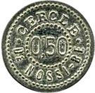 50 Centimes Cercle de Nossi-Bé – obverse