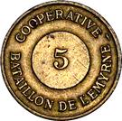 5 Centimes Tananarive – obverse