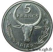 5 Francs (Essai) – reverse