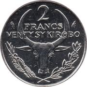 2 Francs / Venty Sy Kirobo – reverse