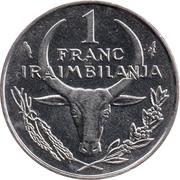 1 Franc / Iraimbilanja – reverse