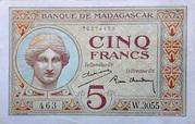 5 Francs 1926 – obverse