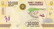 10000 Ariary 2017 – obverse