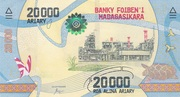 20 000 Ariary – obverse