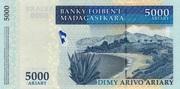 "5000 Ariary ""Madagascar Action Plan"" – reverse"