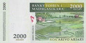 "2000 Ariary ""Madagascar Action Plan"" – reverse"