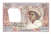 50 Francs Type 1950 – obverse