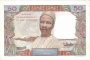 50 Francs Type 1950 – reverse