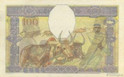 100 Francs Type 1928 – reverse