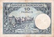 10 Francs Type 1926 – reverse