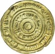 Dinar - Anonymous / In the name of Ziyadid ruler al-Muzzafar b. 'Ali – obverse