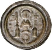 1 Brakteat - Albrecht von Käfernburg (Moritzpfennig) – reverse