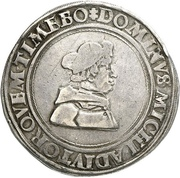 1 Guldengroschen - Albrecht IV. von Brandenburg – obverse