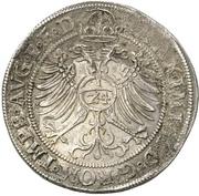 1 Thaler - Joachim Friedrich von Brandenburg – reverse