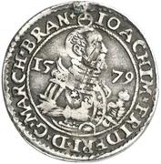 ⅛ Thaler - Joachim Friedrich von Brandenburg – obverse