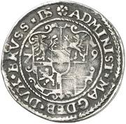 ⅛ Thaler - Joachim Friedrich von Brandenburg – reverse
