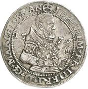 ¼ Thaler - Joachim Friedrich von Brandenburg – obverse