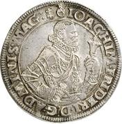 1 Thaler - Joachim Friedrich von Brandenburg – obverse