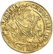 1 Goldgulden - Christian Wilhelm von Brandenburg – obverse