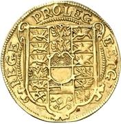1 Goldgulden - Christian Wilhelm von Brandenburg – reverse