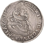 ½ Thaler - Christian Wilhelm von Brandenburg – obverse