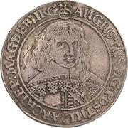 ¼ Thaler - August von Sachsen-Weissenfels – obverse
