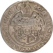 ¼ Thaler - August von Sachsen-Weissenfels – reverse