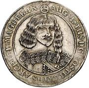 ½ Thaler - August von Sachsen-Weissenfels – obverse