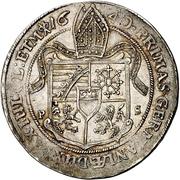 ½ Thaler - August von Sachsen-Weissenfels – reverse