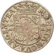 ⅙ Thaler - August von Sachsen-Weissenfels – reverse