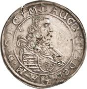 ⅓ Thaler - August von Sachsen-Weissenfels – obverse