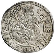 ½ Reichsort - Christian Wilhelm von Brandenburg – obverse